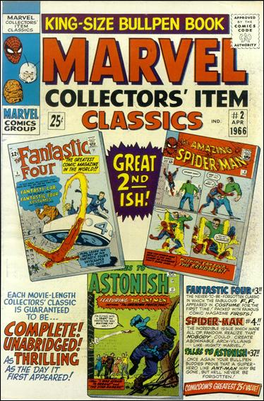 Marvel Collectors' Item Classics 2-A by Marvel