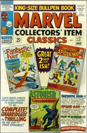 Marvel Collectors' Item Classics 2-A