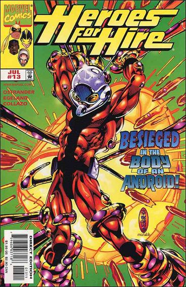 Heroes for Hire (1997) 13-A by Marvel