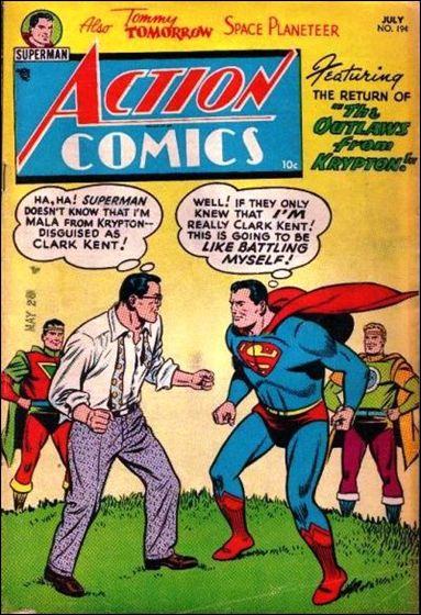 Action Comics (1938) 194-A by DC