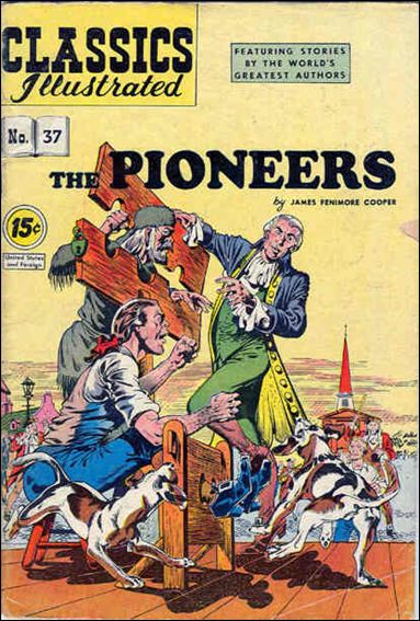 Classic Comics/Classics Illustrated 37-F by Gilberton