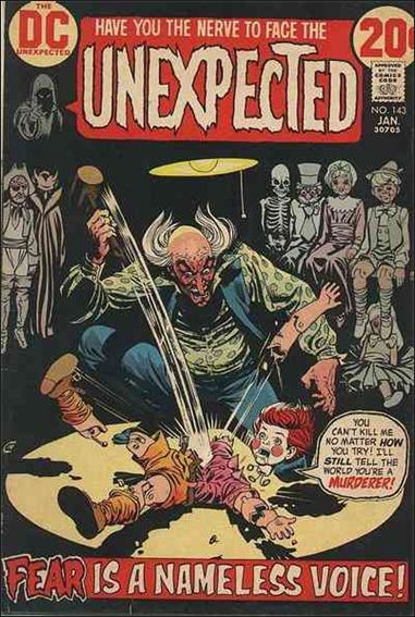 Unexpected (1968) 143-A by DC