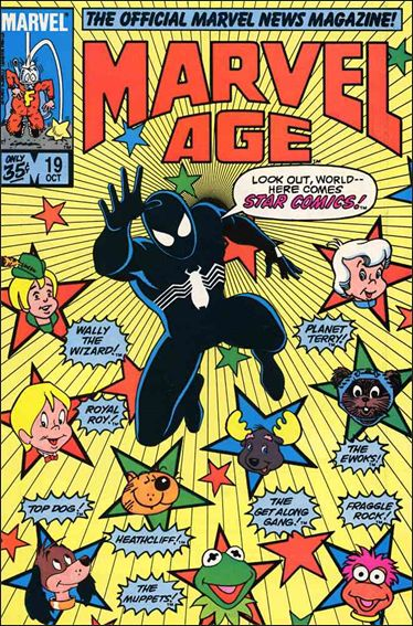 Marvel Age 19-A by Marvel