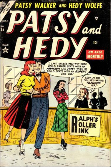 Patsy and Hedy 25-A by Marvel