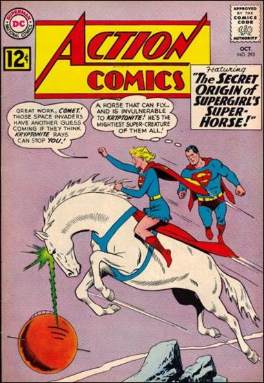 Action Comics (1938) 293-A by DC