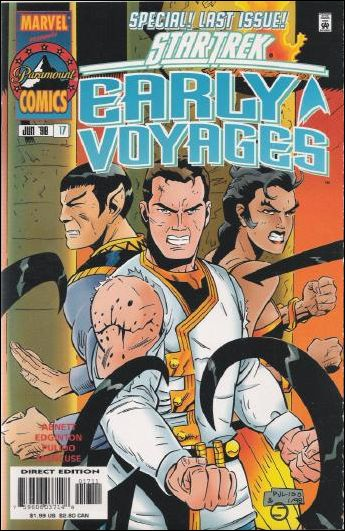 Star Trek: Early Voyages 17-A by Marvel