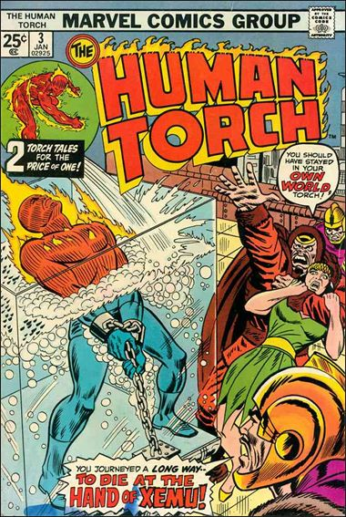 Human Torch (1974) 3-A by Marvel