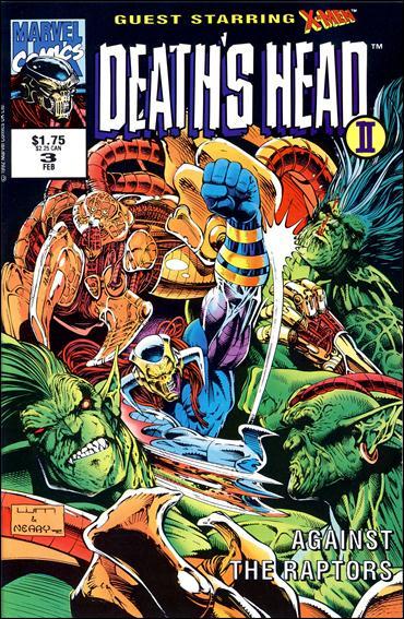 Death's Head II (UK) (1992/12) 3-A by Marvel UK