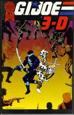 G.I. Joe in 3-D: Blackthorne 3-D Series 5-A by Blackthorne
