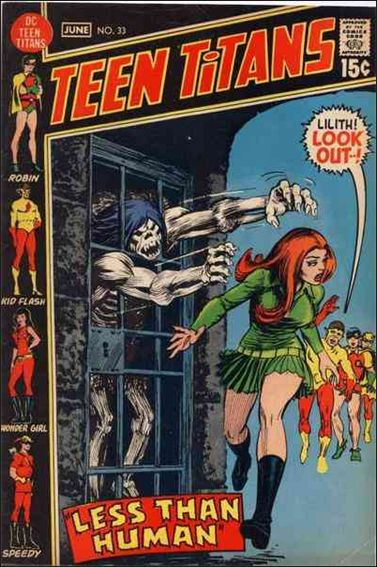 Teen Titans (1966) 33-A by DC