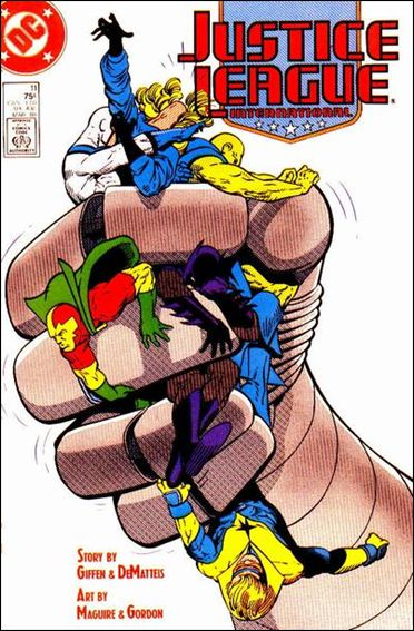 Justice League International (1987) 11-A by DC