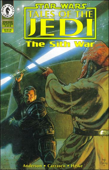 Star Wars: Tales of the Jedi - The Sith War 3-A by Dark Horse