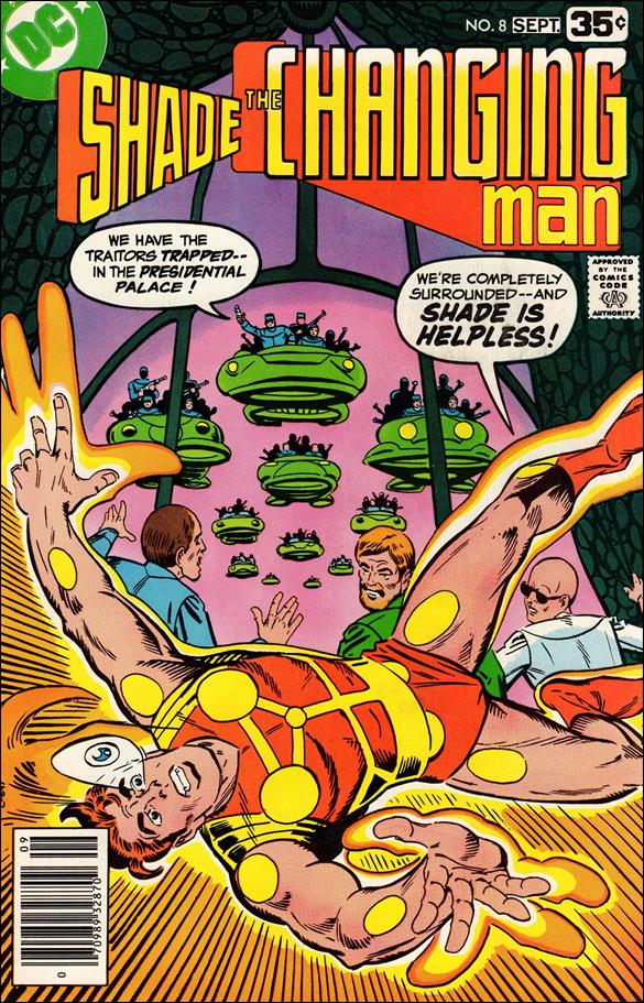 Shade, the Changing Man (1977) 8-A by DC