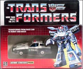 Transformers: More Than Meets the Eye (Generation 1) Prowl (Autobot Strategist) by Hasbro