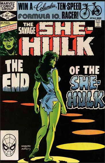 Savage She-Hulk 25-A by Marvel