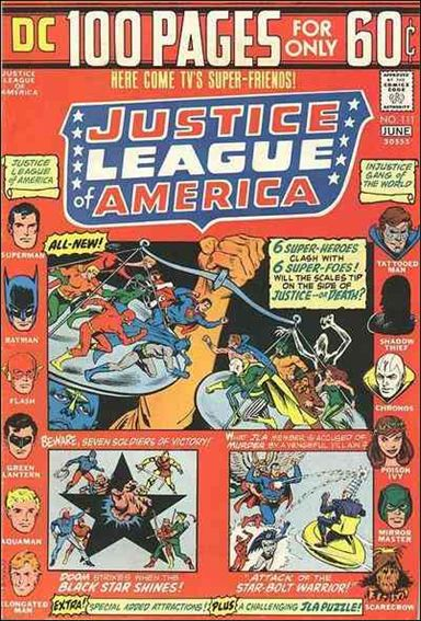 Justice League of America (1960) 111-A by DC