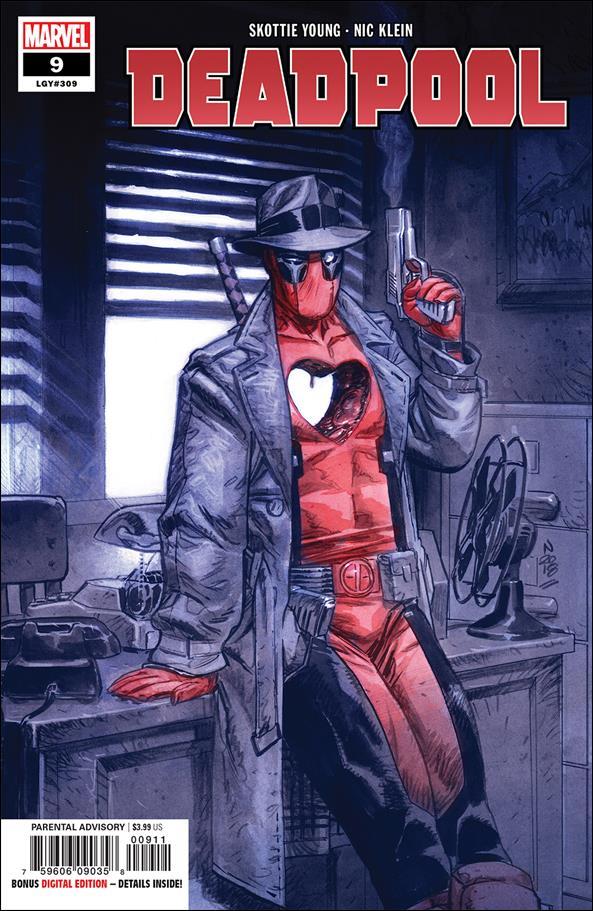 Deadpool (2018) 9-A by Marvel