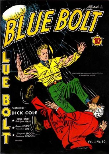 Blue Bolt (1940) 10-A by Novelty Press