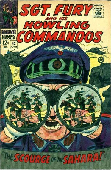 Sgt. Fury and His Howling Commandos 43-A by Marvel