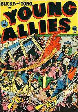Young Allies Comics 10-A by Marvel