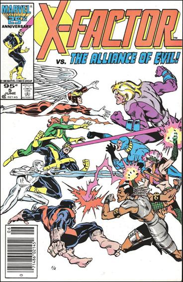 X-Factor (1986) 5-B by Marvel