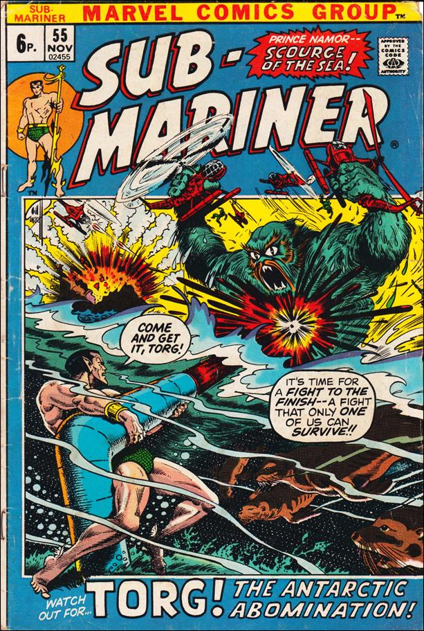 Sub-Mariner (1968) 55-B by Marvel
