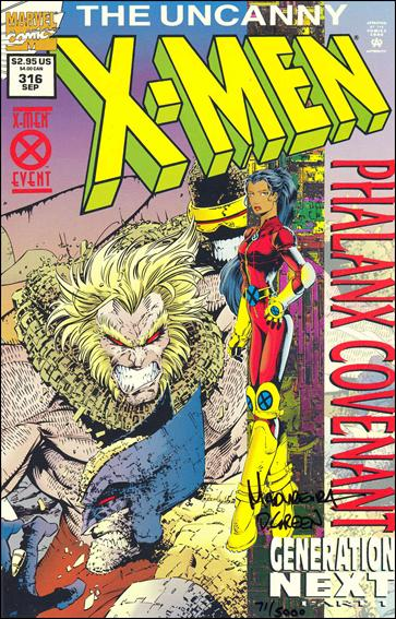 Uncanny X-Men (1981) 316-E by Marvel