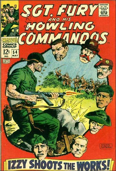 Sgt. Fury and His Howling Commandos 54-A by Marvel
