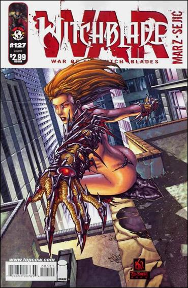 Witchblade 127-B by Top Cow