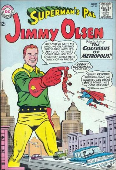 Superman's Pal Jimmy Olsen 77-A by DC