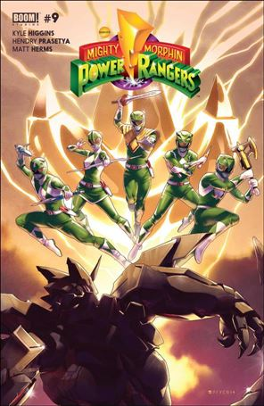 Mighty Morphin Power Rangers 9-A