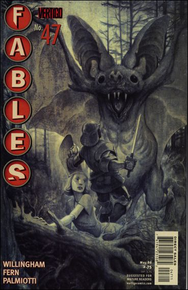 Fables 47-A by Vertigo