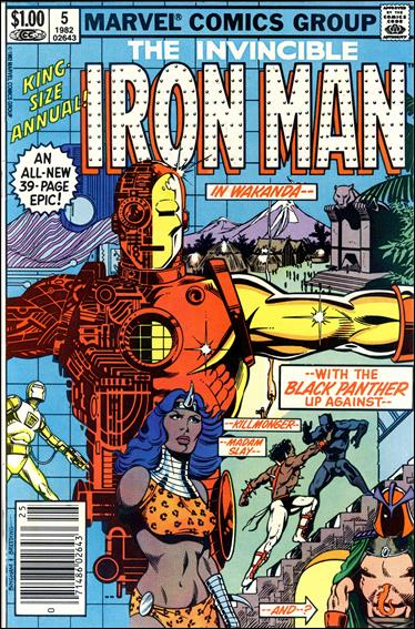 Iron Man Annual (1970) 5-A by Marvel