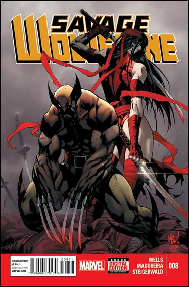 Savage Wolverine 8-A by Marvel