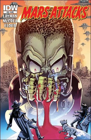 Mars Attacks (2012) 10-B by IDW