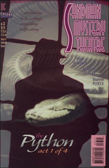 Sandman Mystery Theatre 33-A by Vertigo