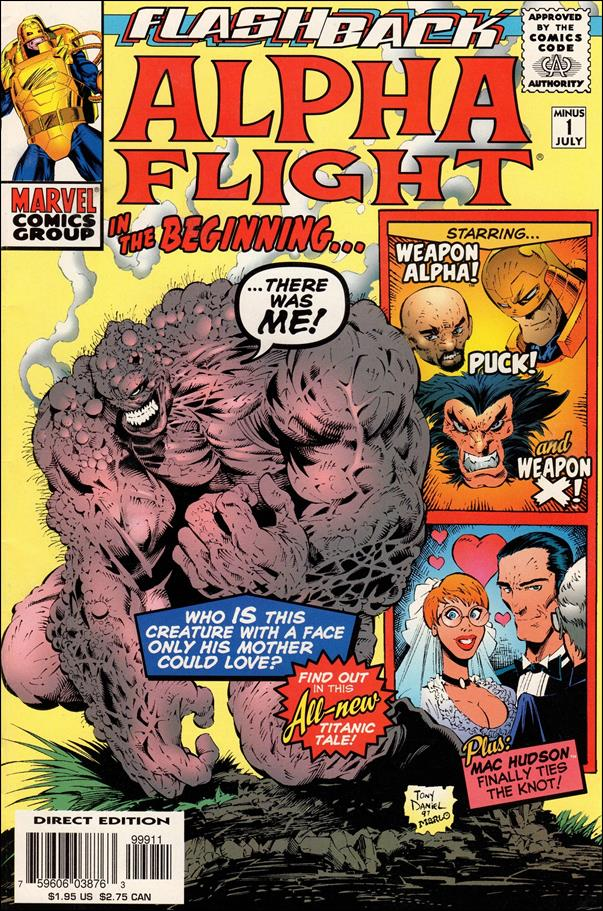 Alpha Flight (1997) -1-A by Marvel