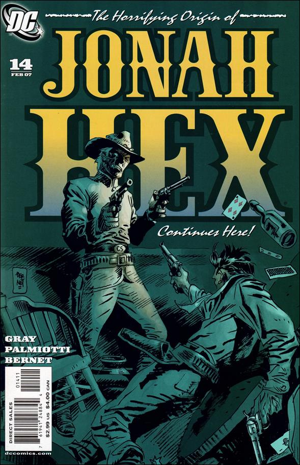 Jonah Hex (2006) 14-A by DC