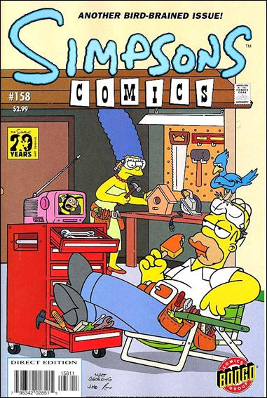 Simpsons Comics 158-A by Bongo