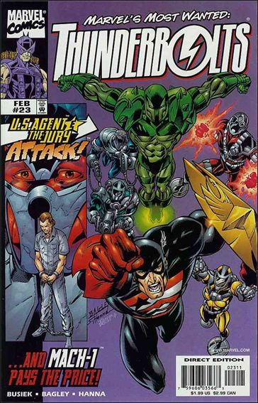 Thunderbolts (1997) 23-A by Marvel
