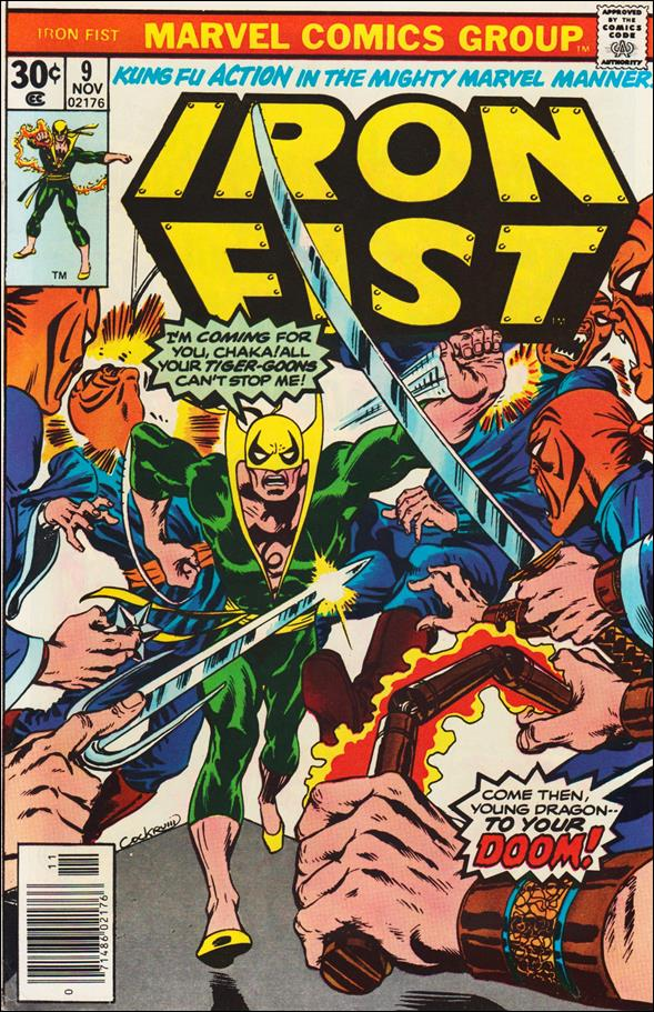 Iron Fist (1975) 9-A by Marvel