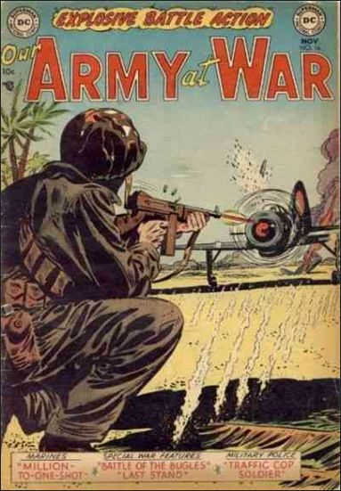 Our Army at War (1952) 16-A by DC