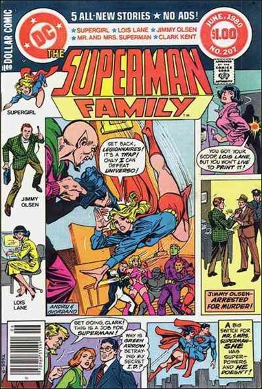 Superman Family 207-A by DC