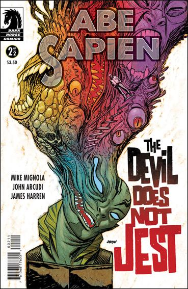 Abe Sapien: The Devil Does not Jest 2-A by Dark Horse