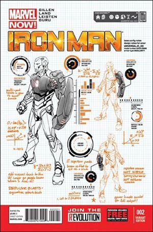 Iron Man (2013) 2-B