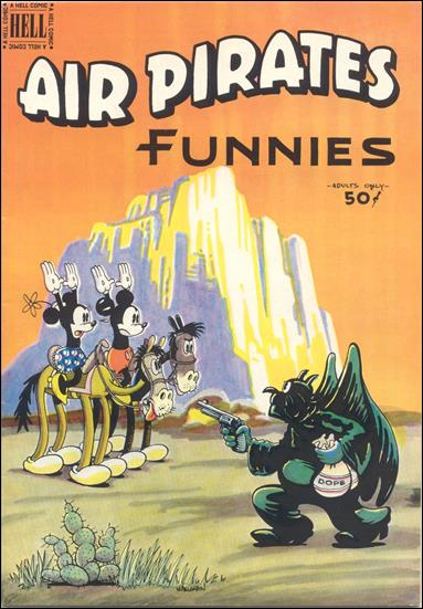 Air Pirates Funnies (1971) 2-A by Hell Comics