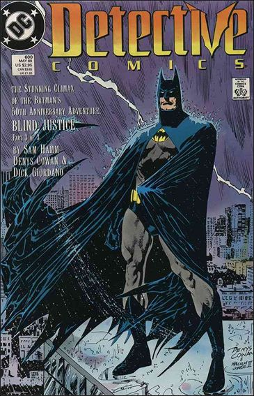 Detective Comics (1937) 600-A by DC