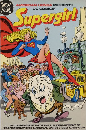American Honda Presents: Supergirl 1986-A by DC
