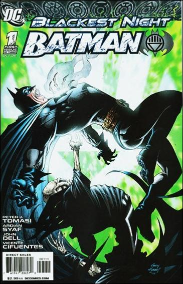 Blackest Night: Batman 1-A by DC