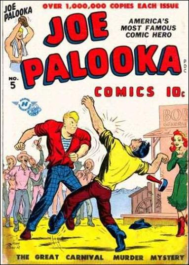 Joe Palooka (1945) 5-A by Harvey